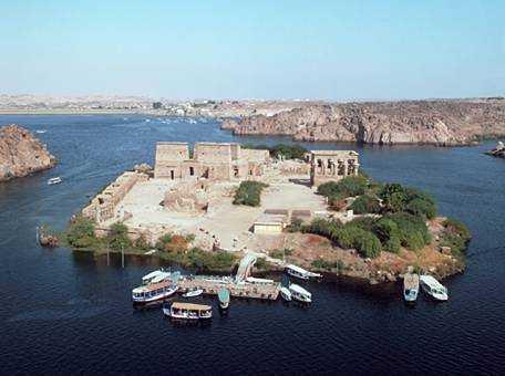4ème jour :  Philae et le haut barrage